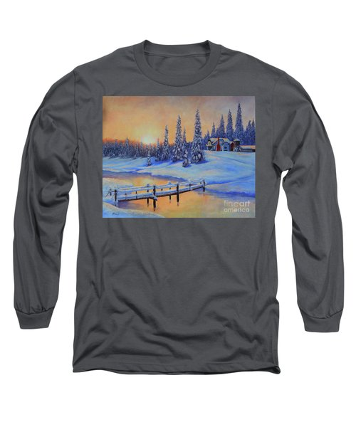 Snow Home Long Sleeve T-Shirt