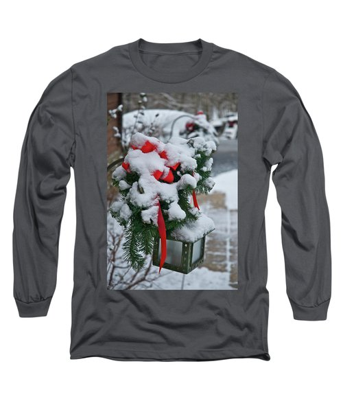 Snow Latern Long Sleeve T-Shirt