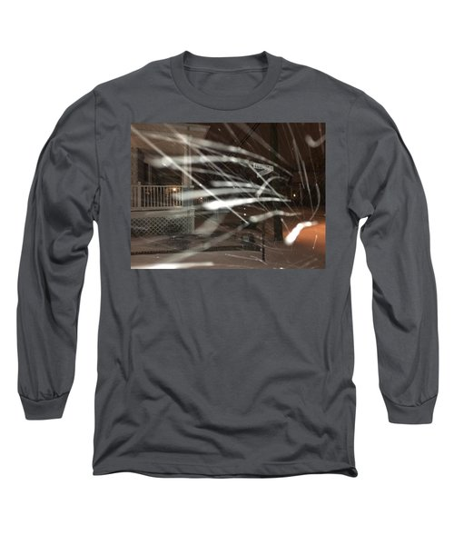 Snow On Coulter Long Sleeve T-Shirt