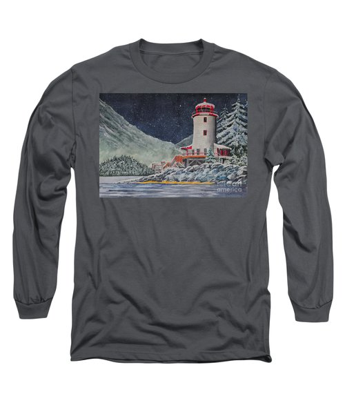Snow On Sitka Sound Long Sleeve T-Shirt