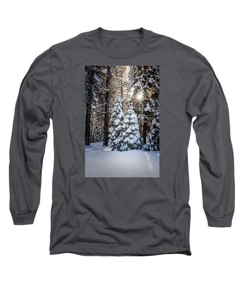 Snow On Spooner Summit Long Sleeve T-Shirt
