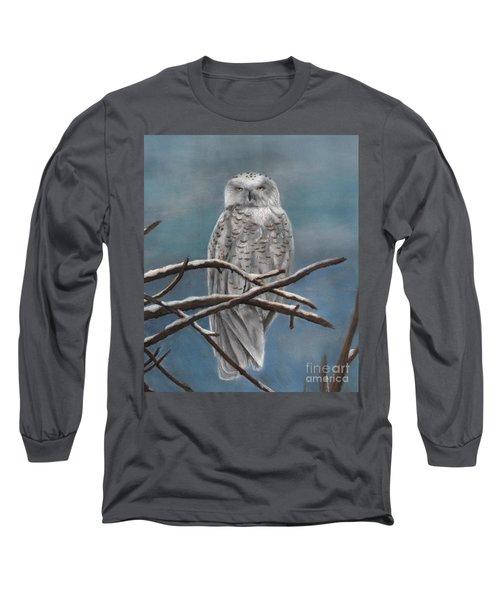 Snow Owl Long Sleeve T-Shirt