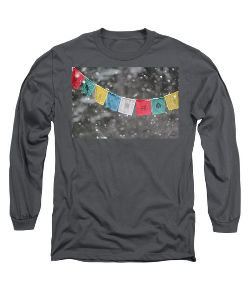Snow Prayers Long Sleeve T-Shirt