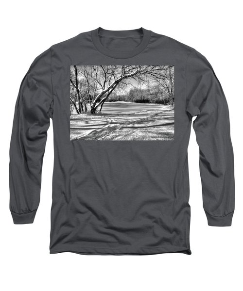 Snow Scripting Long Sleeve T-Shirt