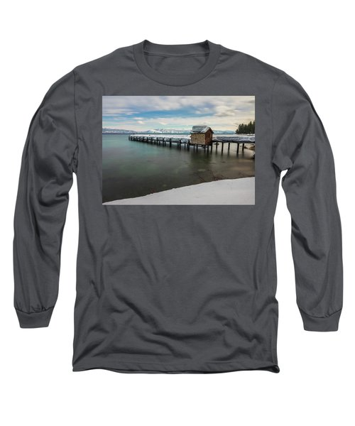 Snow White Pier Long Sleeve T-Shirt
