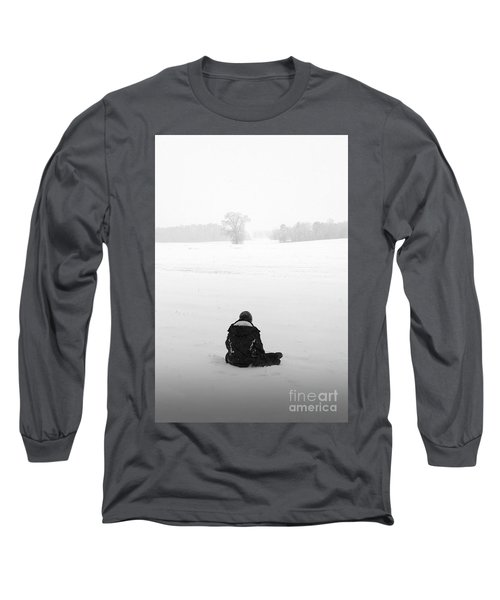 Long Sleeve T-Shirt featuring the photograph Snow Wonder by Brian Jones