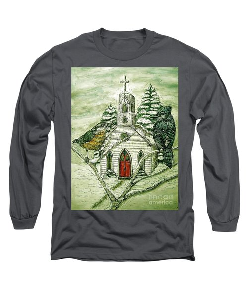 Snowbirds Visit St. Paul Long Sleeve T-Shirt by Kim Jones