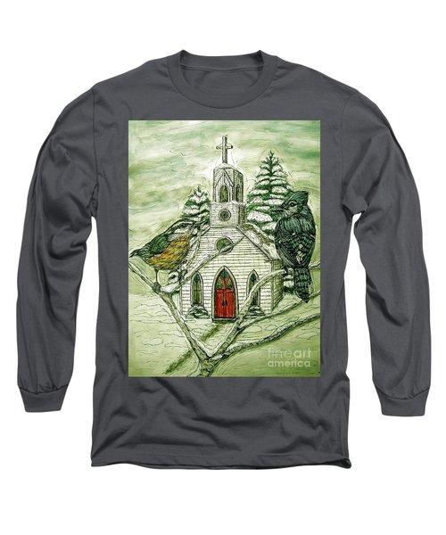 Snowbirds Visit St. Paul Long Sleeve T-Shirt