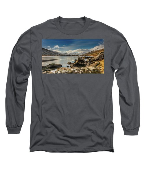 Long Sleeve T-Shirt featuring the photograph Snowdon From Llynnau Mymbyr by Adrian Evans