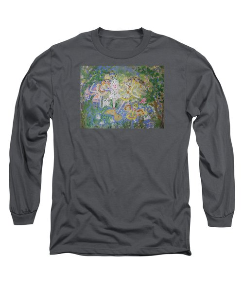 Snowdrop The Fairy And Friends Long Sleeve T-Shirt by Judith Desrosiers