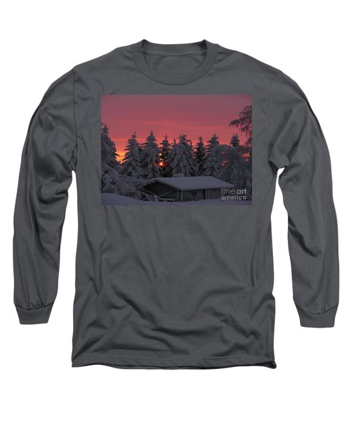 Snowed In Long Sleeve T-Shirt