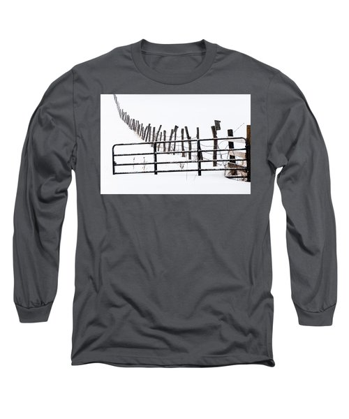Snowfield Entry - Long Sleeve T-Shirt