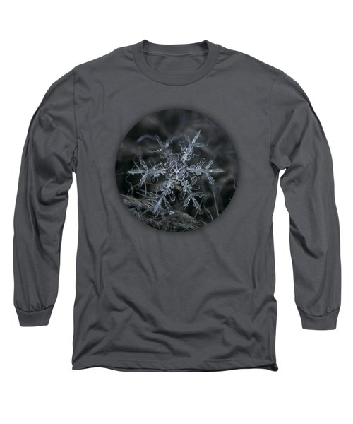 Snowflake 2 Of 19 March 2013 Long Sleeve T-Shirt by Alexey Kljatov