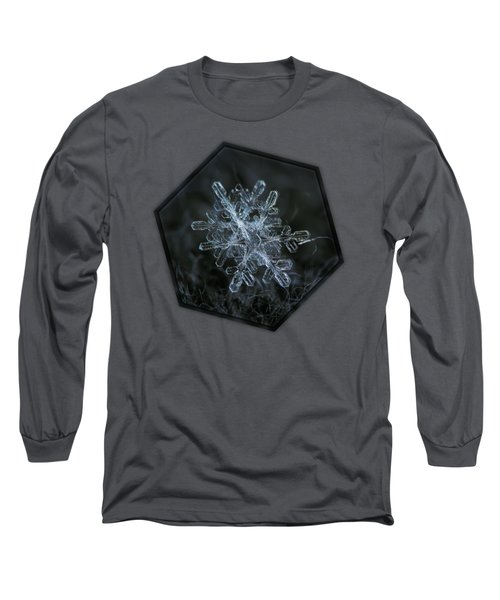 Long Sleeve T-Shirt featuring the photograph Snowflake Of January 18 2013 by Alexey Kljatov