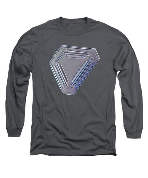 Snowflake Photo - Four Directions Long Sleeve T-Shirt