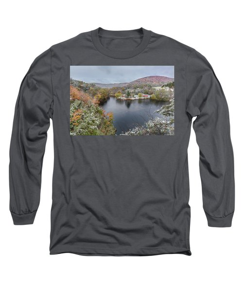 Long Sleeve T-Shirt featuring the photograph Snowliage by Bill Wakeley
