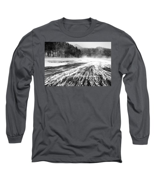 Snowstorm Long Sleeve T-Shirt by Hayato Matsumoto