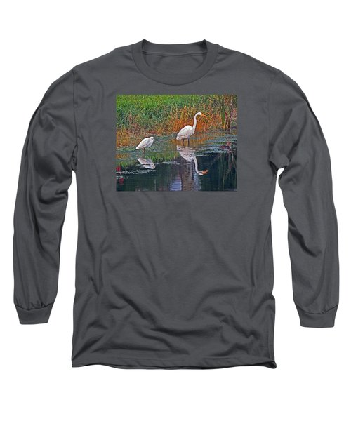 Snowy And Great Long Sleeve T-Shirt