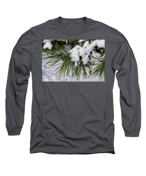 Snowy Branch Long Sleeve T-Shirt