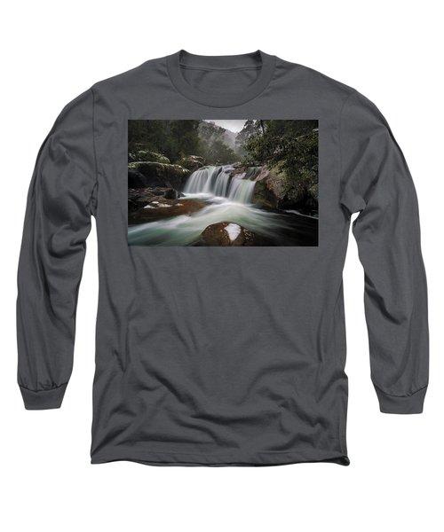 Snowy Mist Long Sleeve T-Shirt