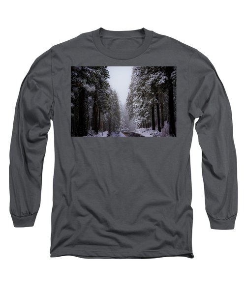 Snowy Path Long Sleeve T-Shirt