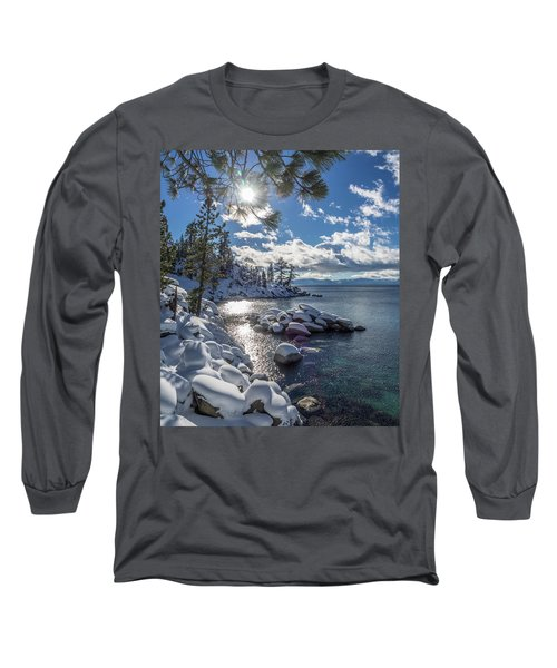 Snowy Tahoe Long Sleeve T-Shirt