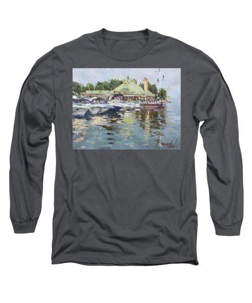 Snug Harbour Mississauga On Long Sleeve T-Shirt