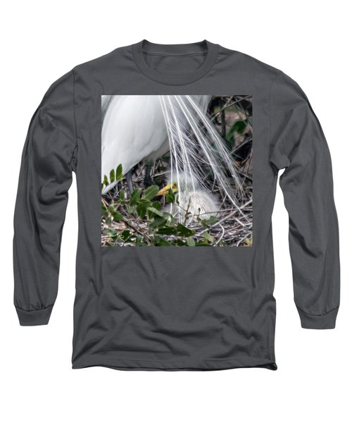 So Safe With Mom 2 Long Sleeve T-Shirt