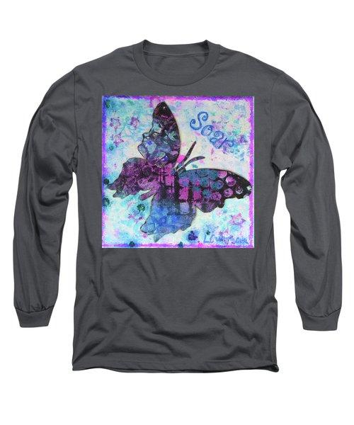 Soar Butterfly Long Sleeve T-Shirt