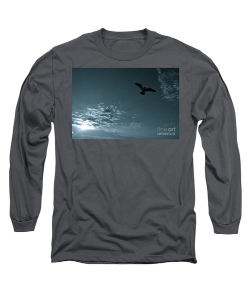Soaring Long Sleeve T-Shirt by Valerie Rosen
