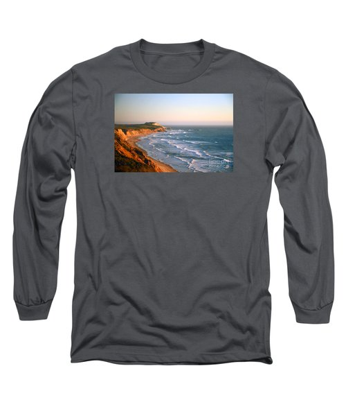 Socal Sunset Ocean Front Long Sleeve T-Shirt by Clayton Bruster