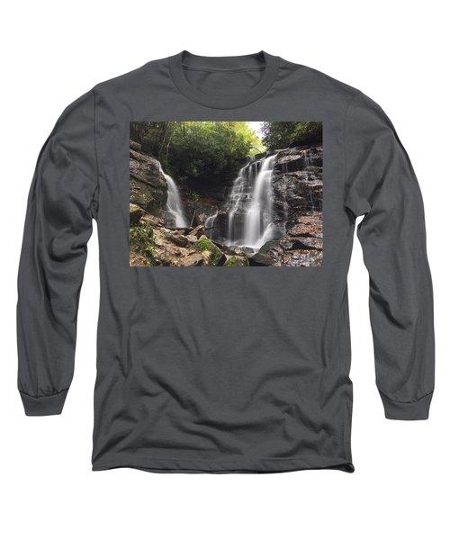 Soco Falls-landscape Version Long Sleeve T-Shirt