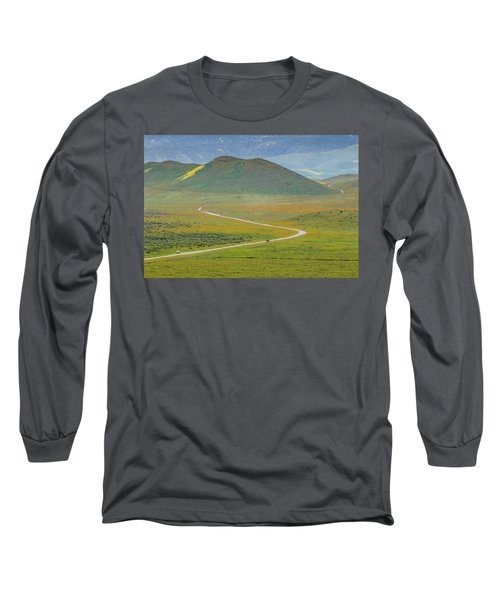 Soda Lake Road Long Sleeve T-Shirt by Marc Crumpler