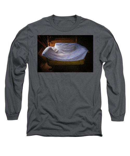 Sofa In Barn Long Sleeve T-Shirt