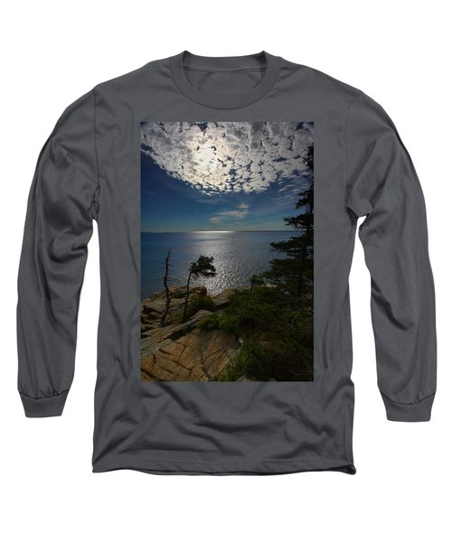 Soft Light On Otter Point Long Sleeve T-Shirt