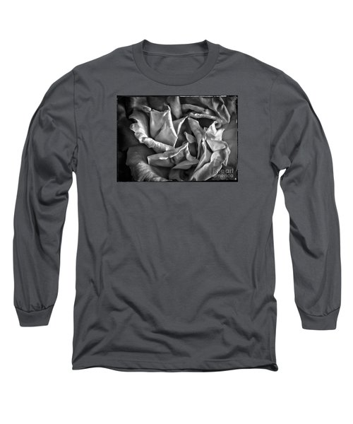 Soft Petals For My Valentine Long Sleeve T-Shirt by Janice Rae Pariza
