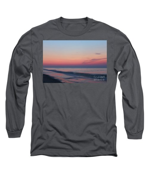 Soft Pink Sunrise Long Sleeve T-Shirt