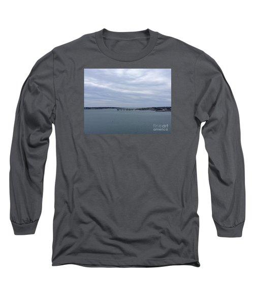 Soft Start, Winter Sunrise Long Sleeve T-Shirt