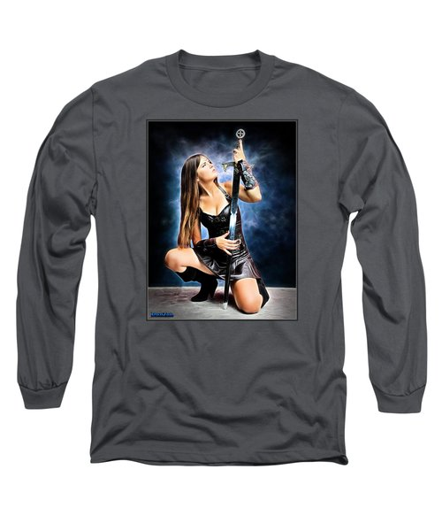 Soft Touch Heavy Metal Long Sleeve T-Shirt
