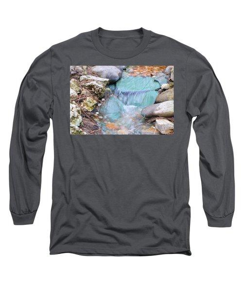 Softly Falling Long Sleeve T-Shirt by Warren Thompson