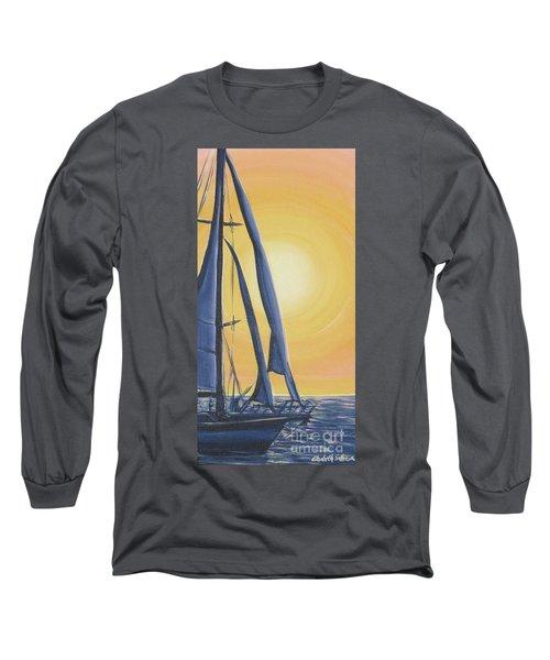 Softly Setting Sun Long Sleeve T-Shirt