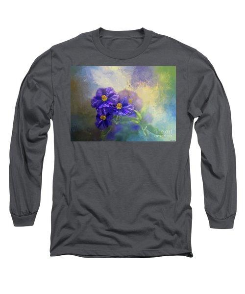 Solanum Long Sleeve T-Shirt by Eva Lechner
