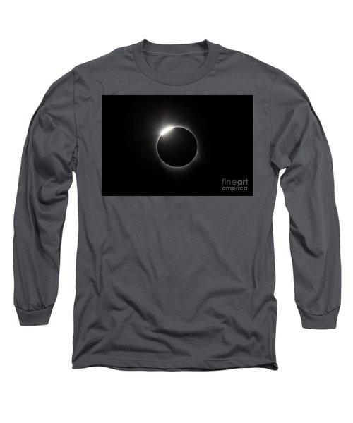 Solar Diamond Ring Long Sleeve T-Shirt