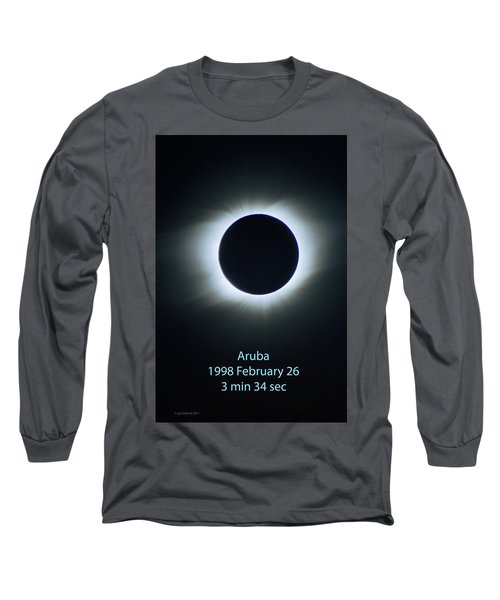Solar Eclipse Aruba 1998 Long Sleeve T-Shirt