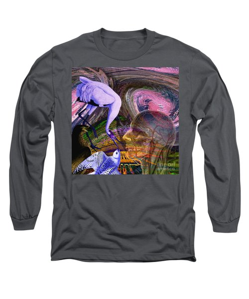 Solar Whisper Winds Of Change Long Sleeve T-Shirt by Joseph Mosley