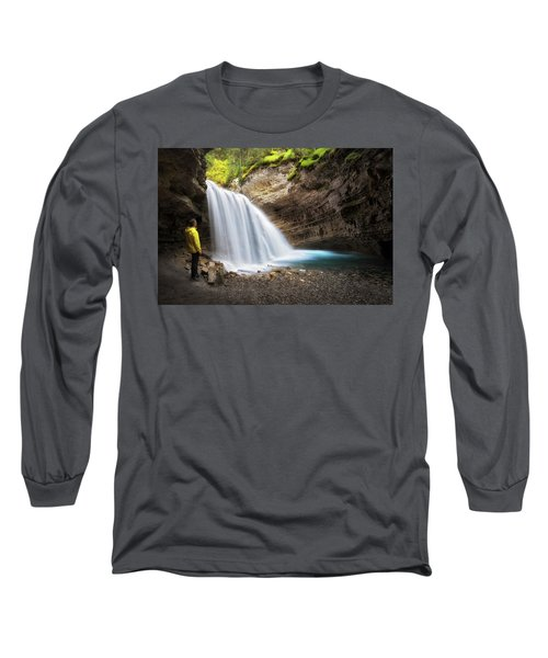 Solitary Moment Long Sleeve T-Shirt by Nicki Frates