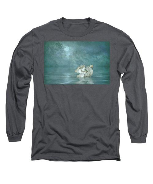 Solitude Long Sleeve T-Shirt by Brian Tarr