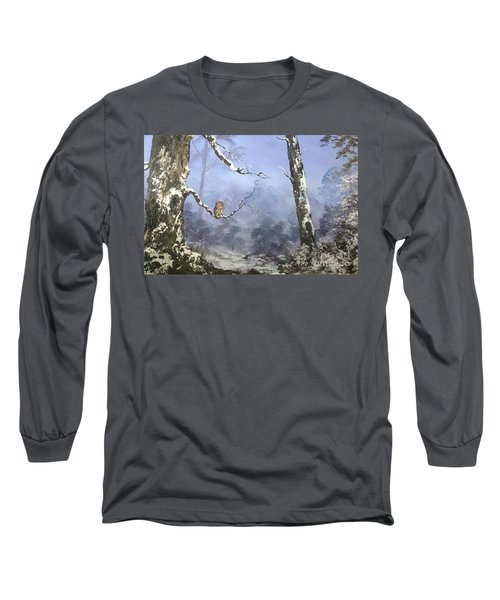 Solitude Long Sleeve T-Shirt by Jean Walker