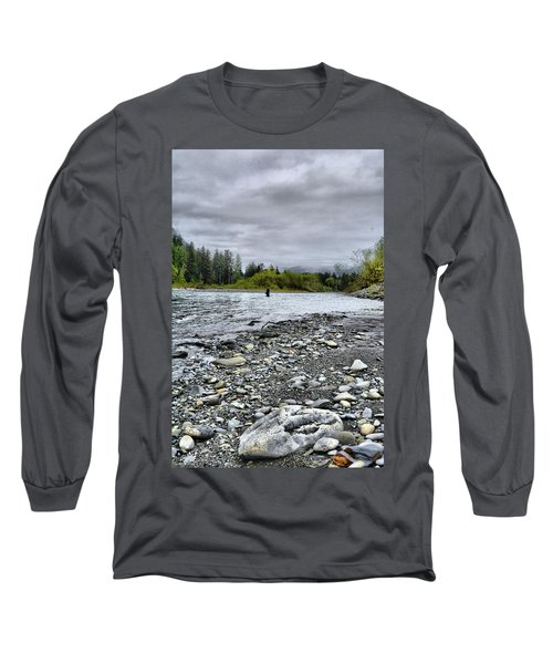 Solitude On The River Long Sleeve T-Shirt