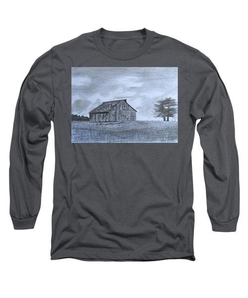 Solitude  Long Sleeve T-Shirt by Tony Clark